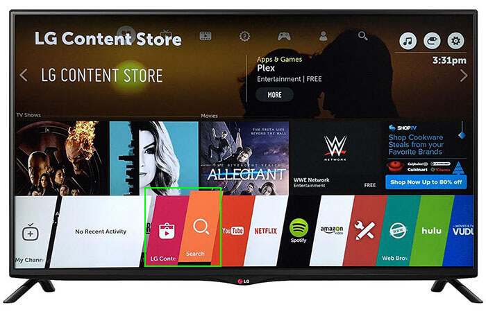 LG Smart TV webOS